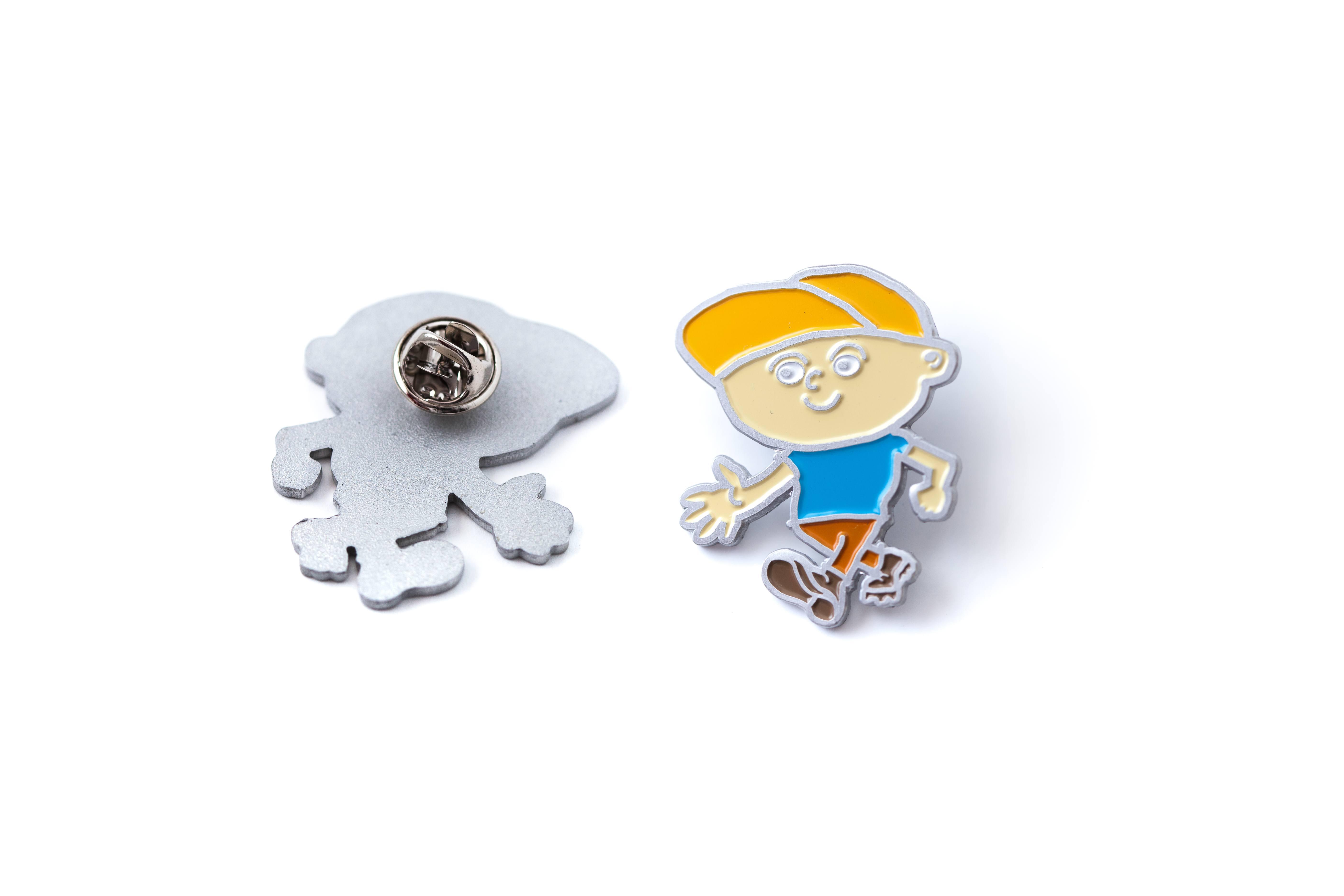 Lopertje Pin Aluminium Uitvoering