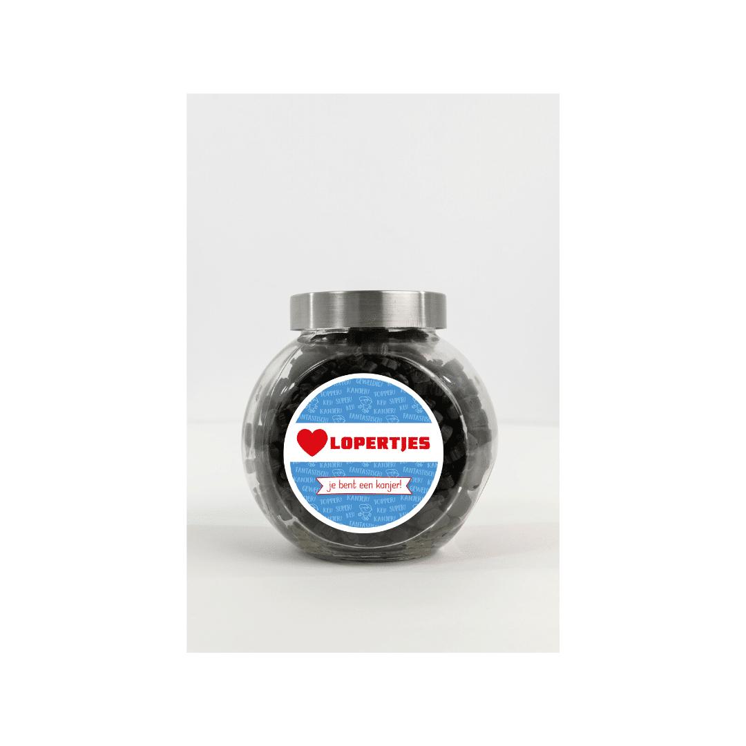 Hart Lopertjes Snoeppot 1,5l